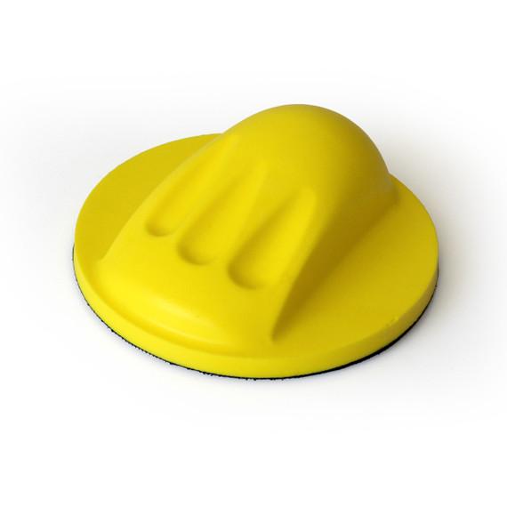 """Foam Hand Sanding Pad Round For Velcro  6""""Discs"""