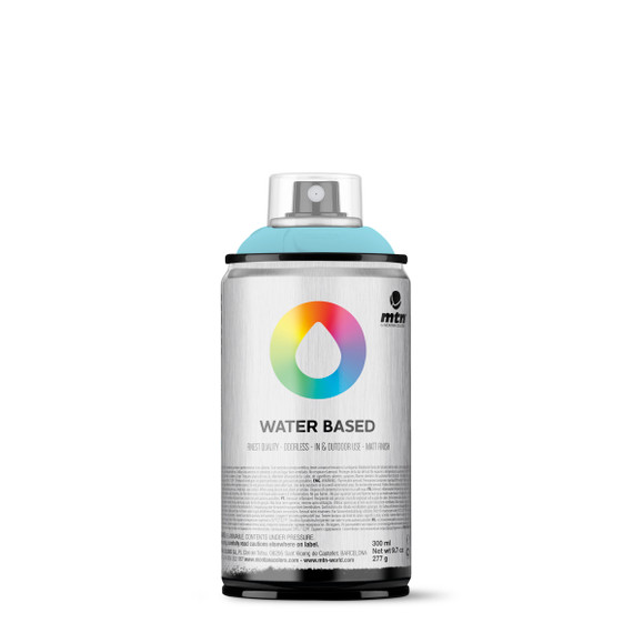 300ml Spray Paint -  Phthalo Blue Pale