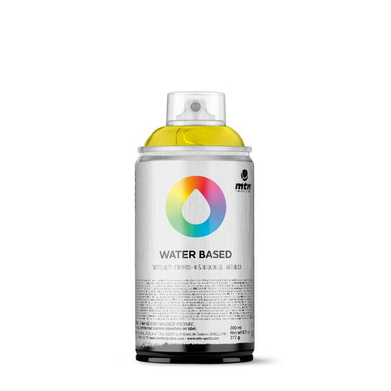 300ml Spray Paint - Fluorescent Yellow