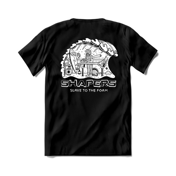T-Shirt - Slave To The Foam - Black