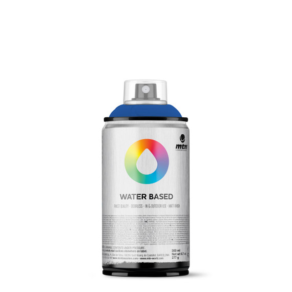 300ml Spray Paint - Primary Blue