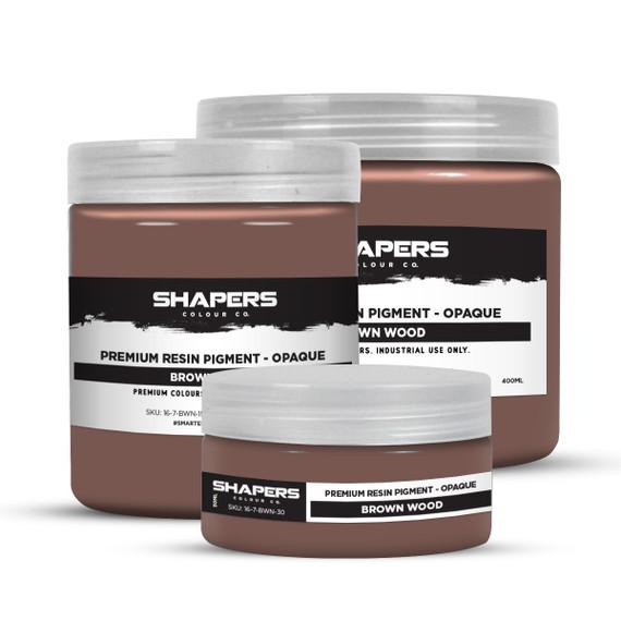 Resin Pigment - Opaque - Brown Wood