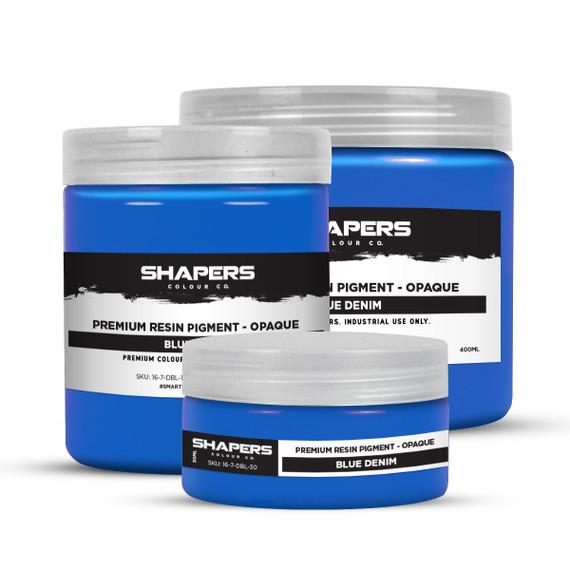 Resin Pigment - Opaque - Blue Denim