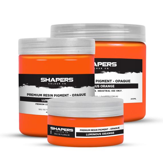 Resin Pigment - Opaque - Luminous Orange
