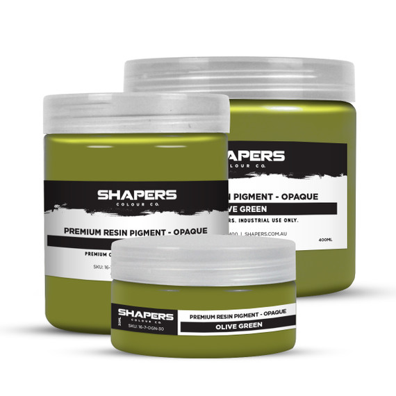 Resin Pigment - Opaque - Olive Green