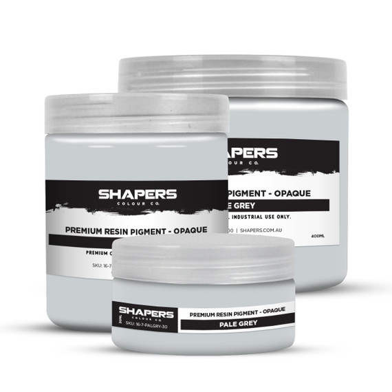 Resin Pigment - Opaque - Pale Grey