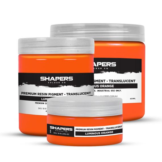 Resin Pigment - Translucent - Luminous Orange