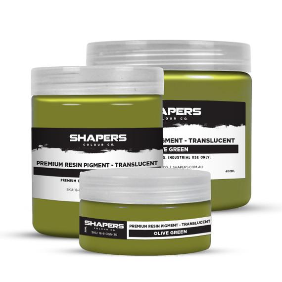 Resin Pigment - Translucent - Olive Green