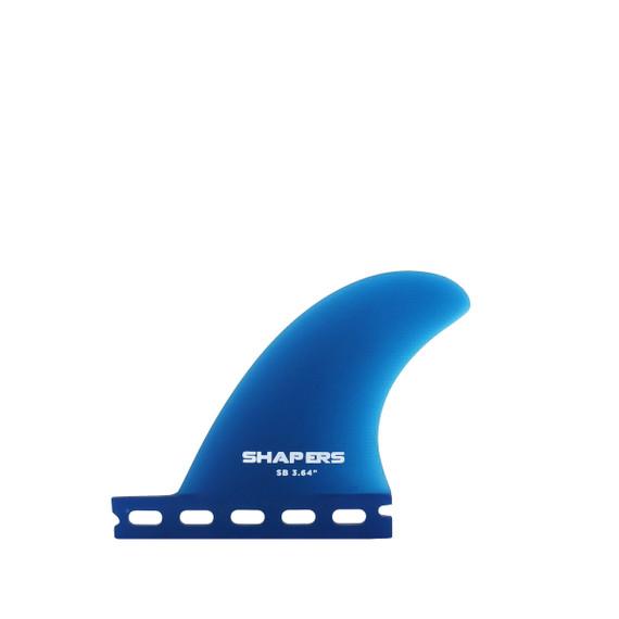 "3.64"" Side Bite - Single Tab - Translucent Blue"