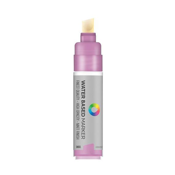 Water Based 8.0mm Chisel tip Marker - Blue Violet Light