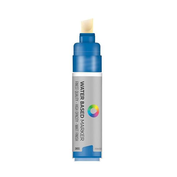 Water Based 8.0mm Chisel tip Marker - Chisel Tip - Prussian Blue