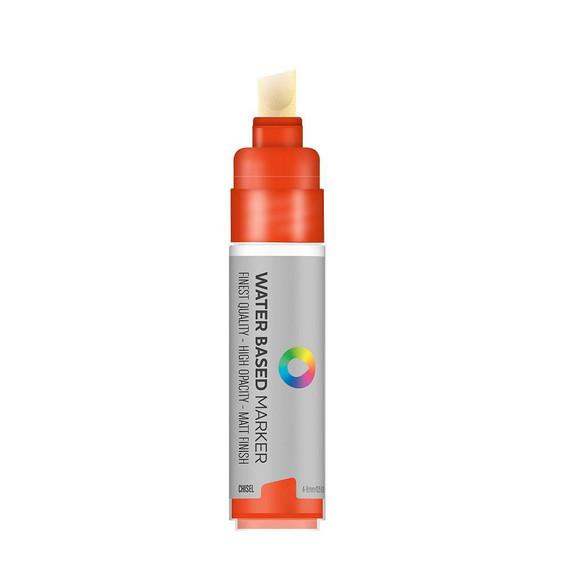 Water Based 8.0mm Chisel tip Marker - Naphthol Red