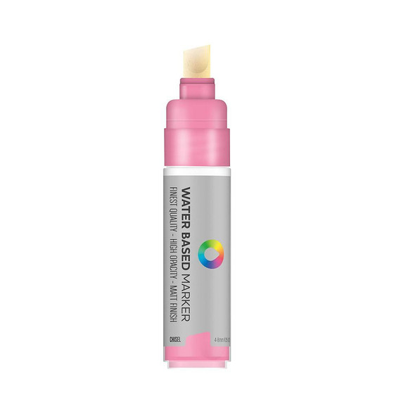 Water Based 8.0mm Chisel tip Marker - Quinacridone Rose