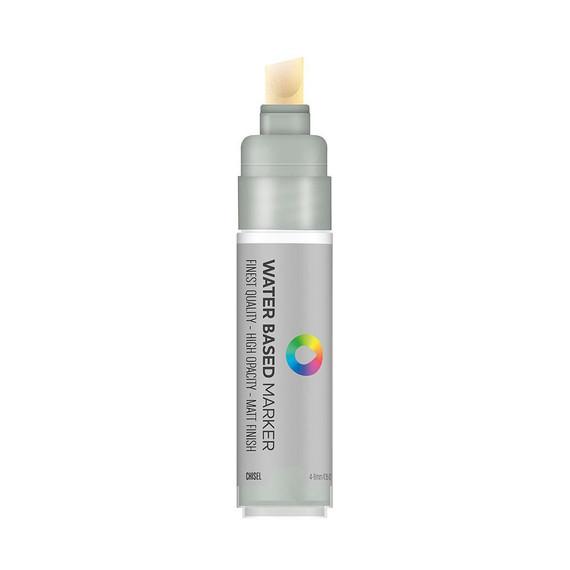 Water Based 8.0mm Chisel tip Marker - Silver