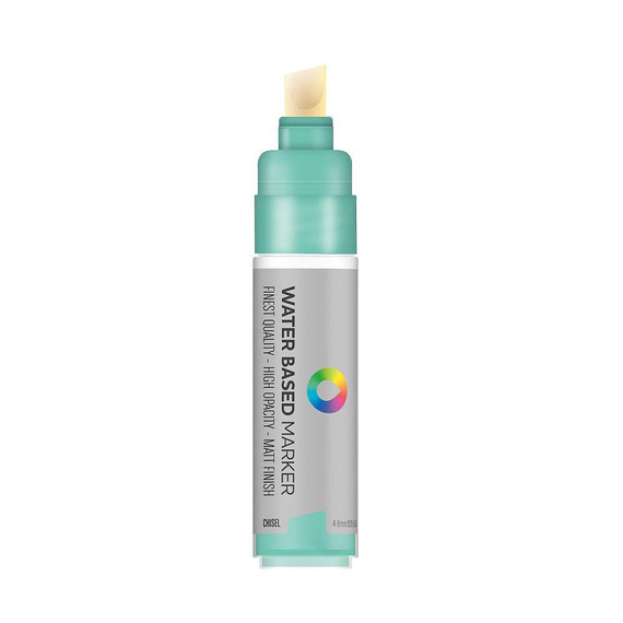 Water Based 8.0mm Chisel tip Marker - Turquoise