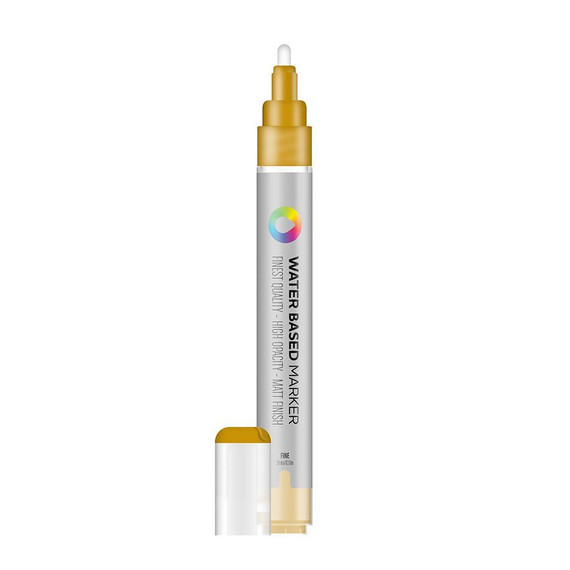 Water Based 3.0mm Marker - Gold