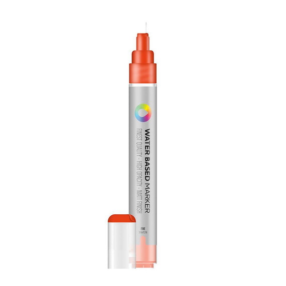 Water Based 3.0mm Marker - Naphthol Red