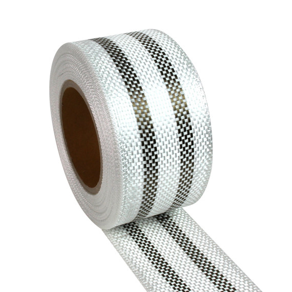2 Band Basalt Hybrid 60mm 50m Roll