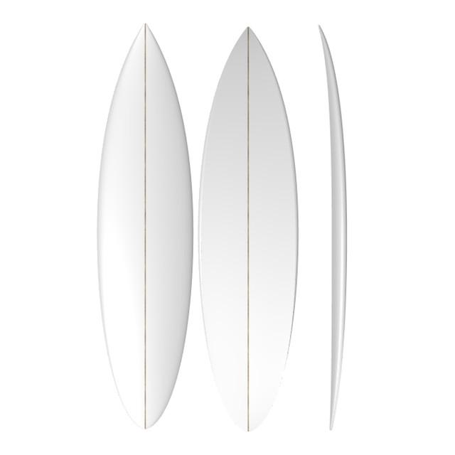 PU Gun: Machine Shaped Surfboard Blank