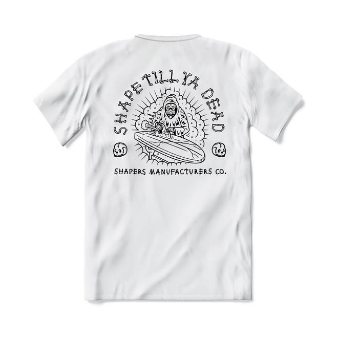 T-Shirt - Shape Til Ya Dead - White