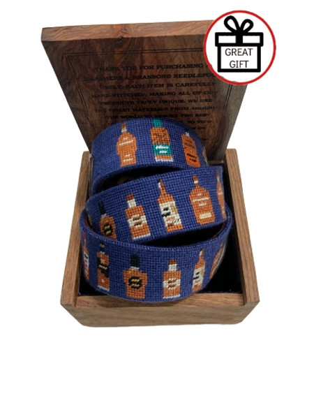 Smathers & Branson Bourbon Bottle Belt