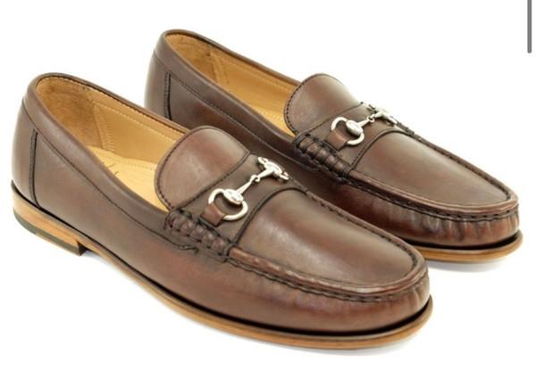 Brown Snaffle Bit Loafer