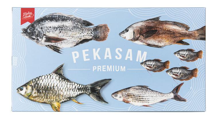 Malay Cook Ikan Pekasam Lampam, Loma, Sepat, Talapia and Gelama