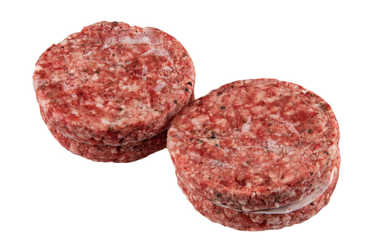 Patty Burger Daging Segar 150g x 4 Patty