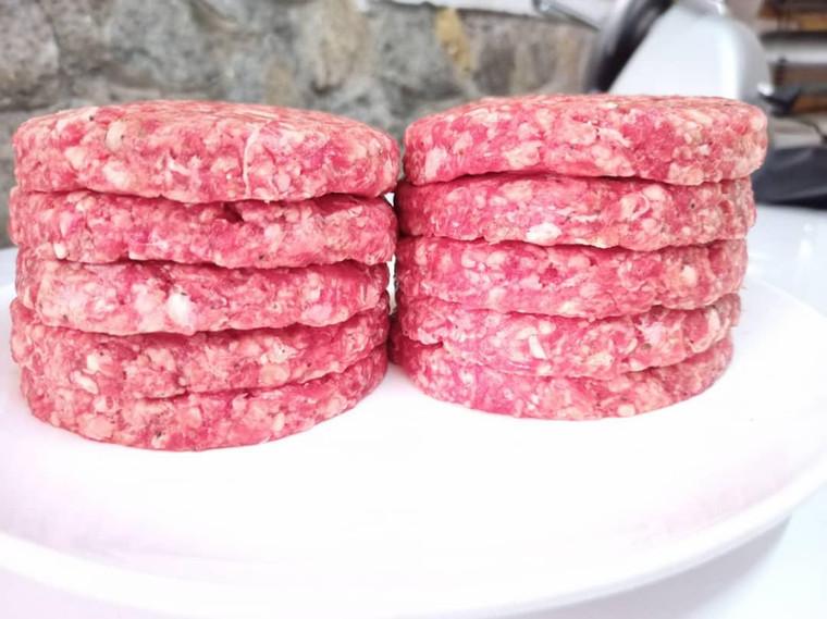 Patty Burger Kambing Segar 150g x 4 Patty