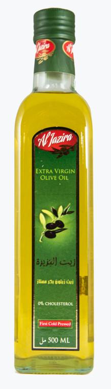 Al Jazira Extra Virgin Olive Oil 500ml Marasca Glass Bottle