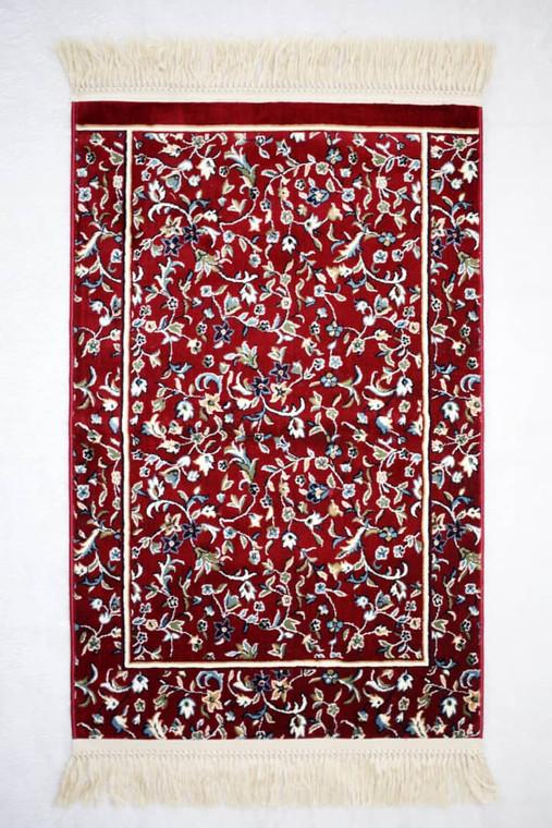 Sejadah Rawdah Beyout Collection in red