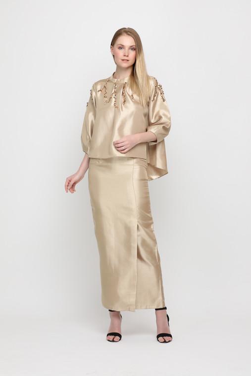 LANA Kurung by VELRIA in Gold