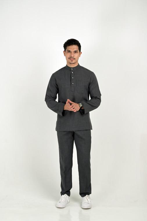 BENTARA Baju Melayu by VELRIA in Black