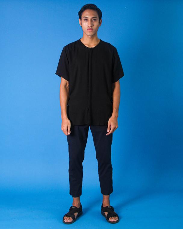 Sazali Shirt by SHALS in Black