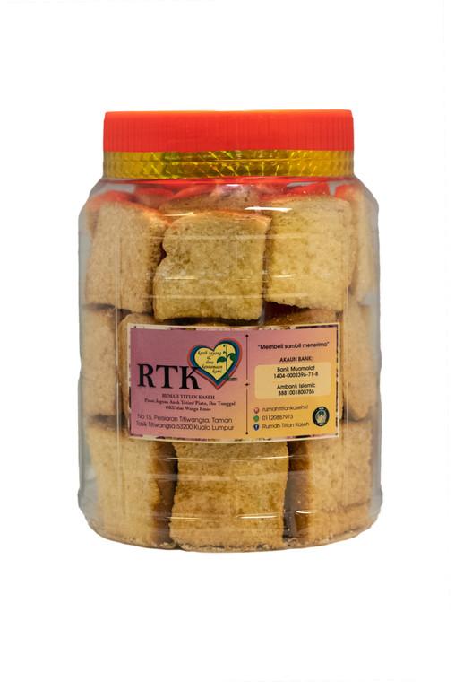 Biskut Roti Ranggup by Kaseh Cookies | Shop with IKHLAS