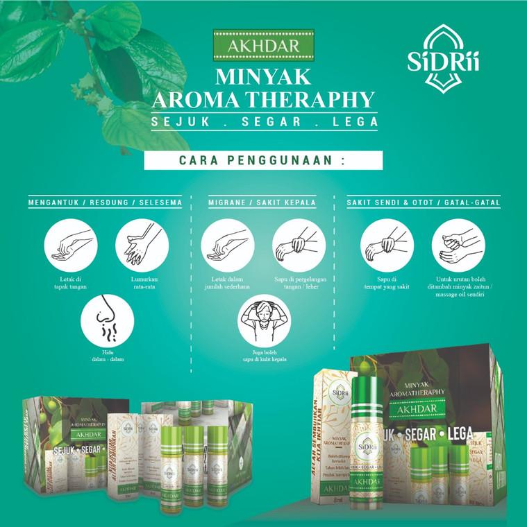 Sidrii Minyak Bidara Aromatherapy
