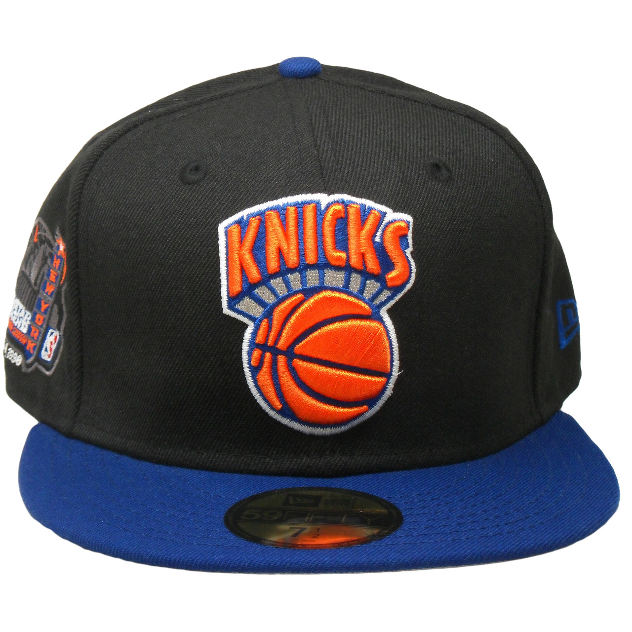 4716d013 New York Knicks New Era 59Fifty Custom Fitted - Black, Royal, Orange, White  - ECapsUnlimited.com