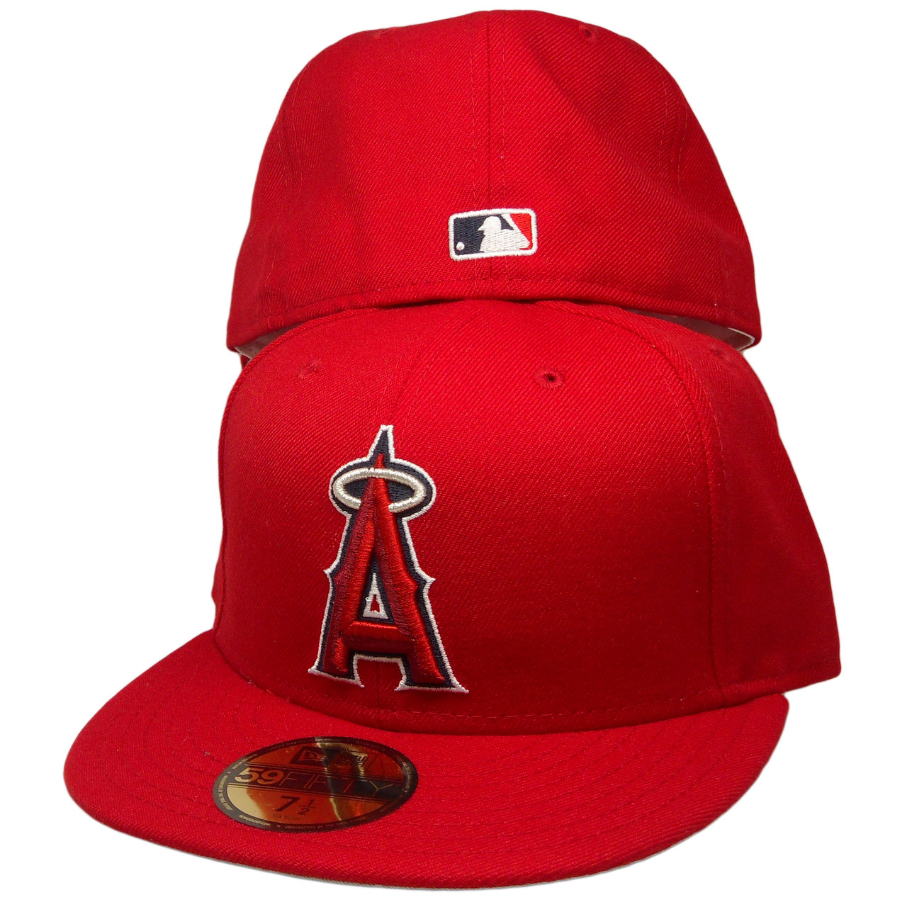 8ba2eb9283385 Anaheim Angels New Era Custom 59Fifty Fitted Hat - Red, Silver, Navy, White