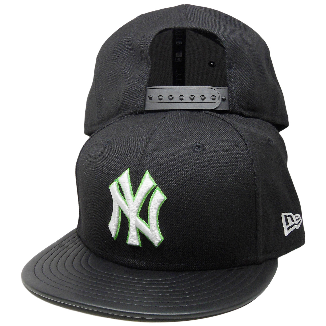 90986dec New York Yankees New Era 9Fifty Custom Snapback Hat - Black, Green, White