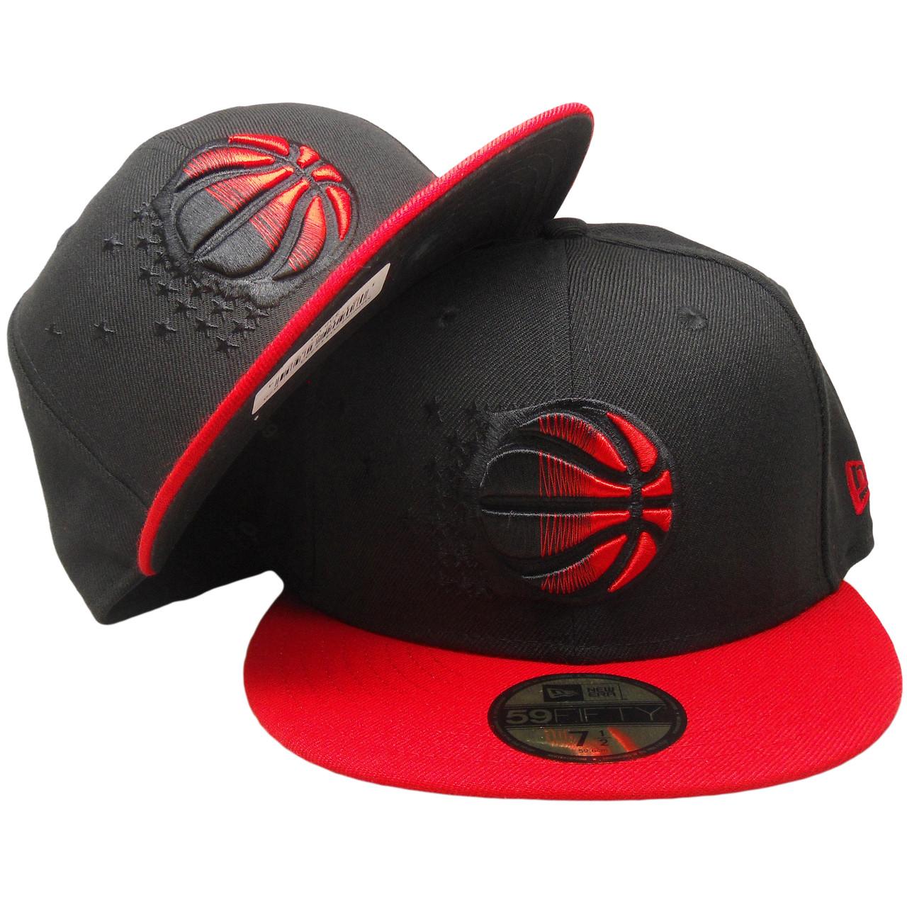 8e1577e5 Orlando Magic New Era Custom 59Fifty Fitted Hat - Black, Red -  ECapsUnlimited.com