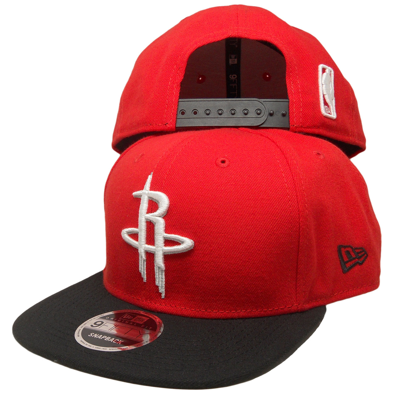 release date: 91ad5 a8cd0 Houston Rockets New Era 2tone basic 9Fifty OF Snapback - Red, White