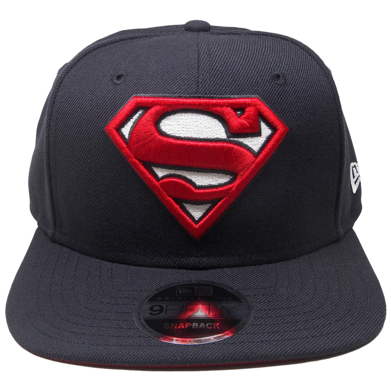 New Era Superman Black White Snapback Cap 9fifty Exclusive Limited Edition