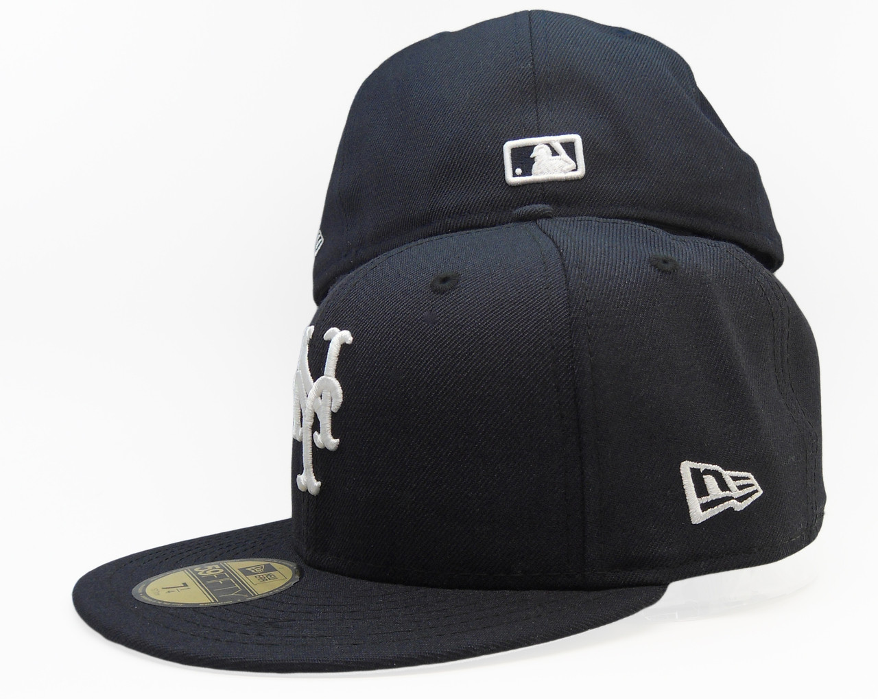 51e4ca79 New York Mets New Era 59Fifty Fitted Hat - Navy Blue, White
