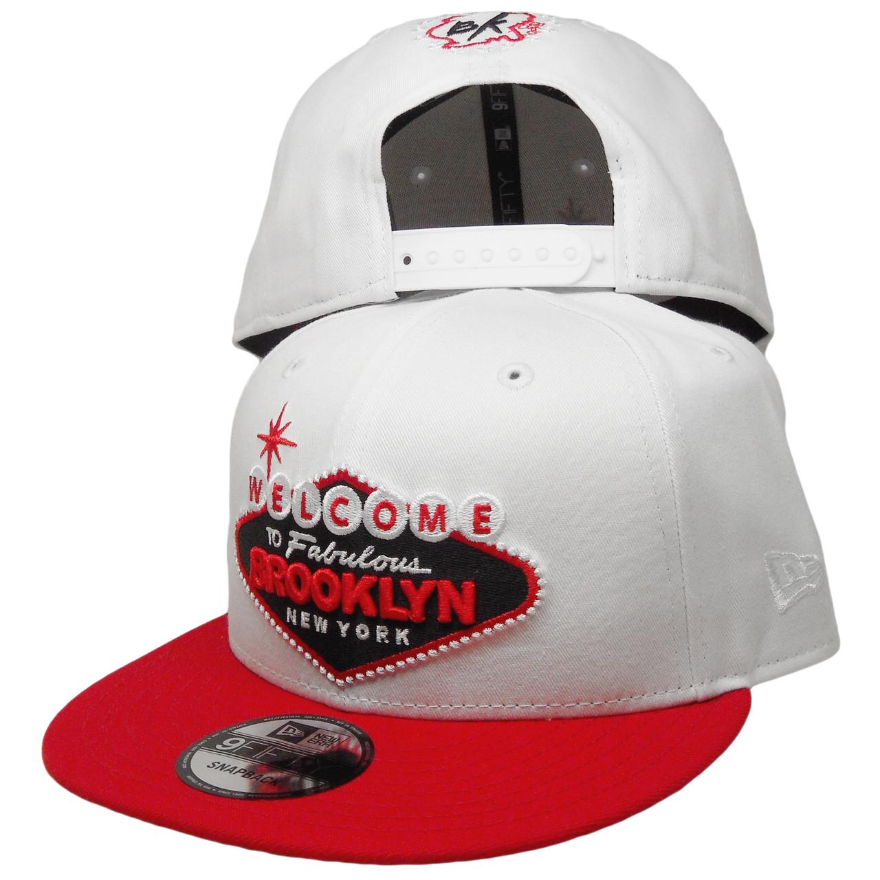 d9bc7573 Welcome to Brooklyn New Era Custom 9Fifty Snapback - White, Red, Black