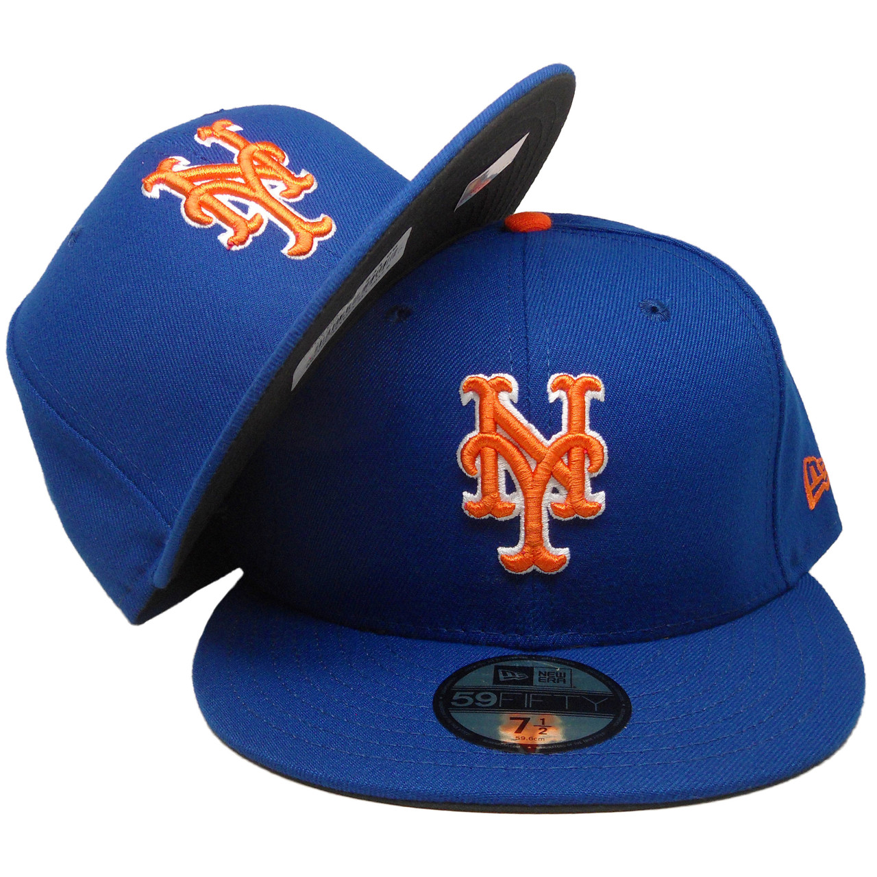 huge selection of e6efe d1d0d New York Mets New Era 59Fifty 2018 Onfield Fitted Hat - Royal, Orange, White  - ECapsUnlimited.com