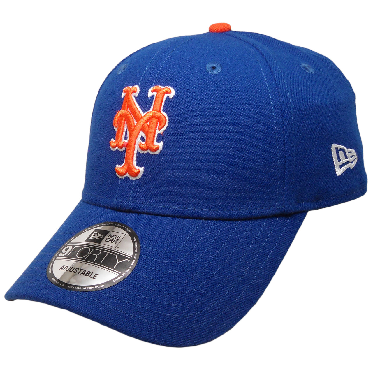 detailed look 0f1dd adbd3 New York Mets New Era The League 9Forty Adjustable Hat - Royal, Orange,  White - ECapsUnlimited.com