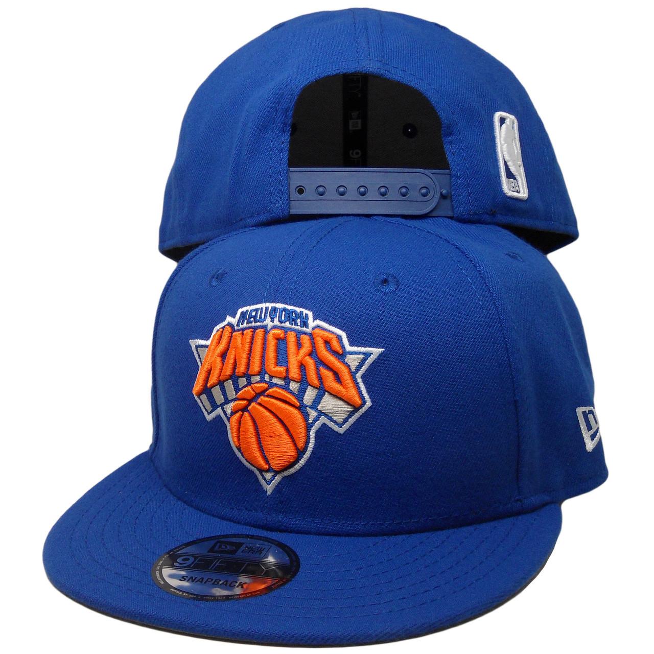 official photos 05c74 c7d01 New York Knicks New Era 9Fifty Basic Snapback - Royal, Orange, White