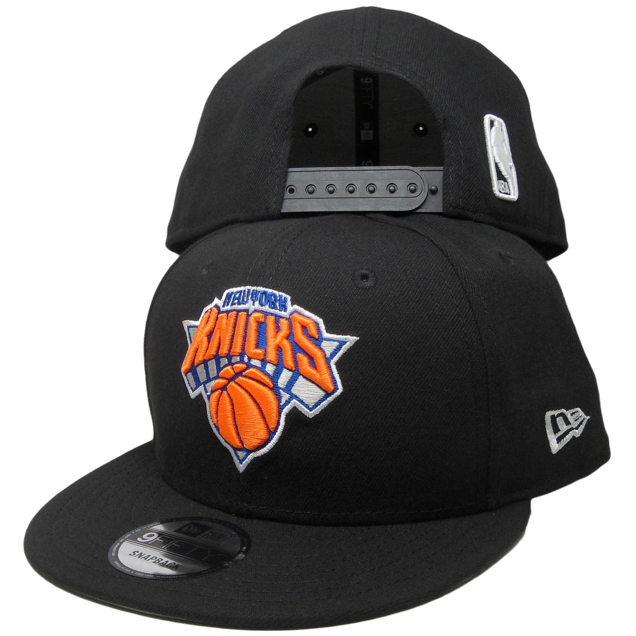 best service d7341 fba7e New York Knicks New Era Basic 9Fifty Snapback - Black, Orange, Royal Blue -  ECapsUnlimited.com
