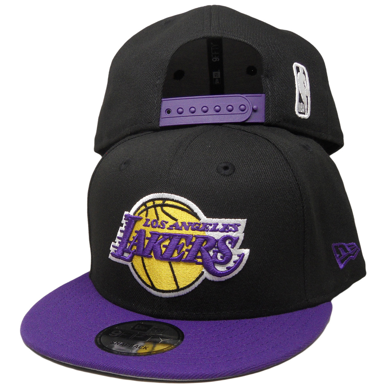 new arrival 4fea1 20f5a Los Angeles Lakers New Era 9Fifty 2Tone 9Fifty Snapback - Black, Purple,  Yellow - ECapsUnlimited.com