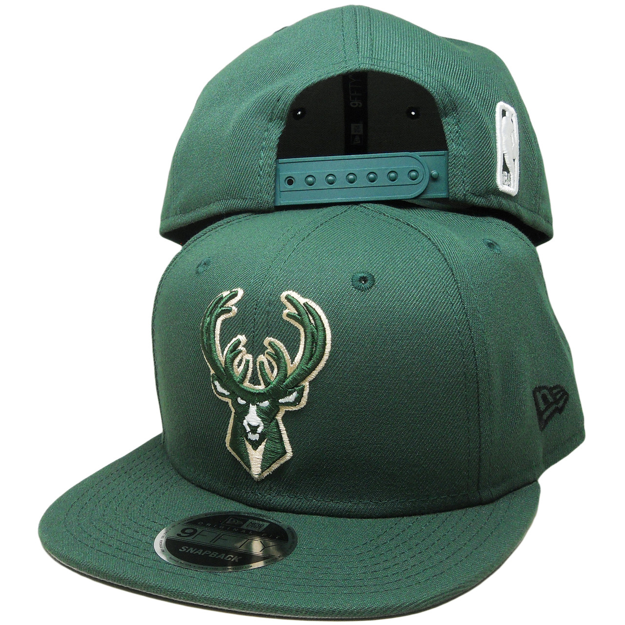 a3382045ad3bd6 Milwaukee Bucks New Era 9Fifty OF Snapback Hat - Green, Beige ...